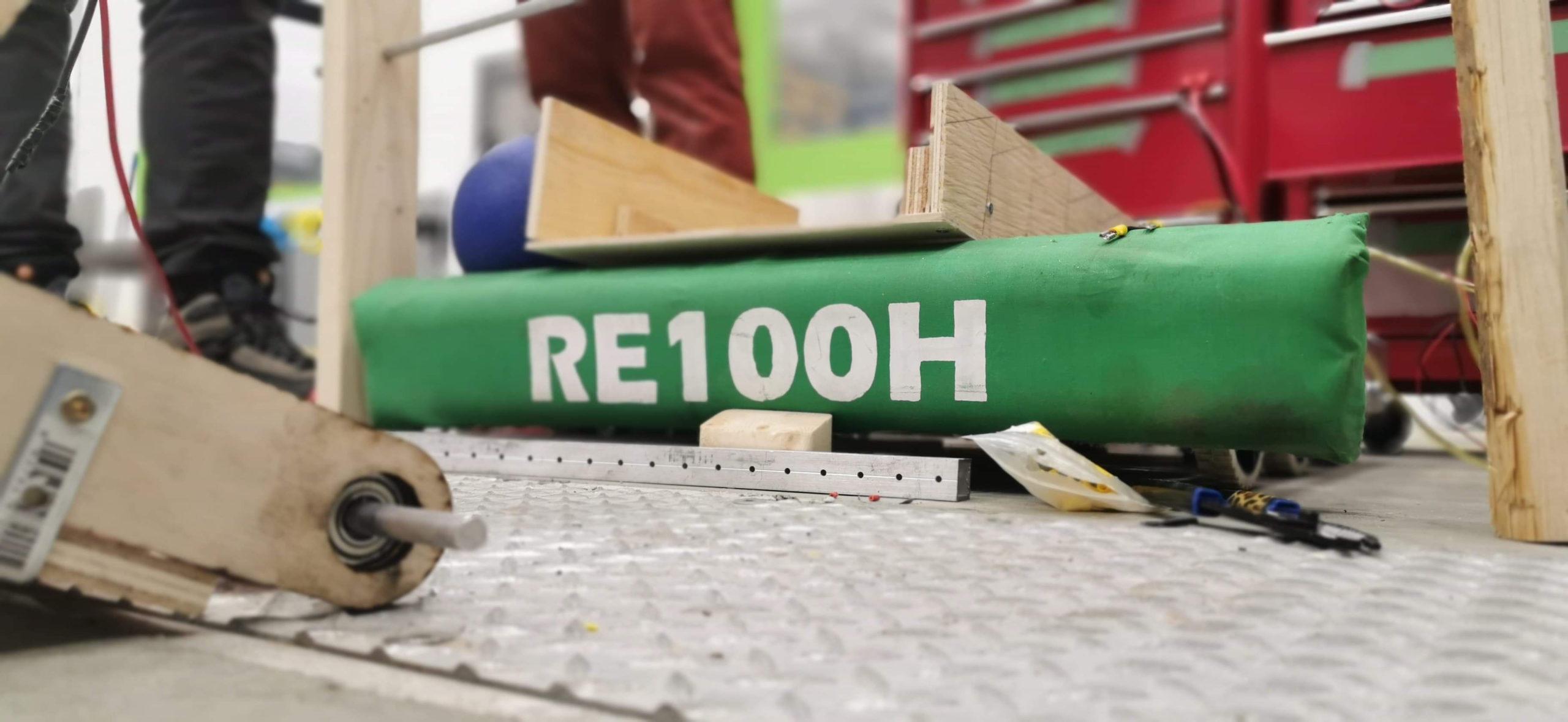 Robot en 100h – Recharge Infinie