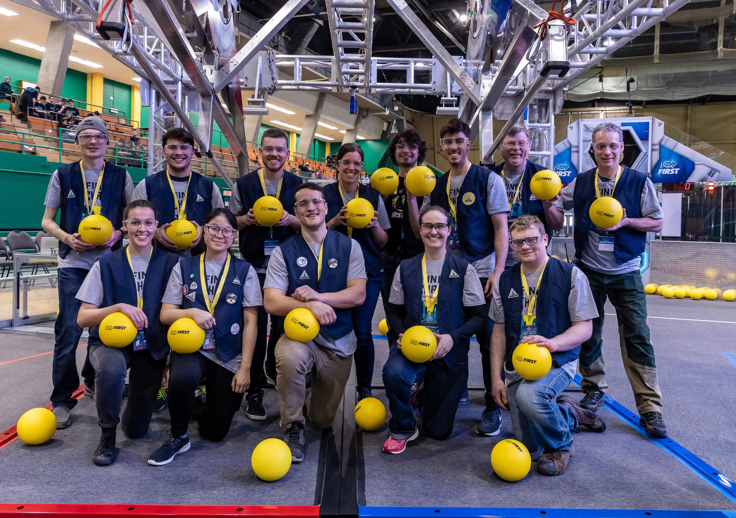 Festival de Robotique FIRST : Une première pour Sherbrooke