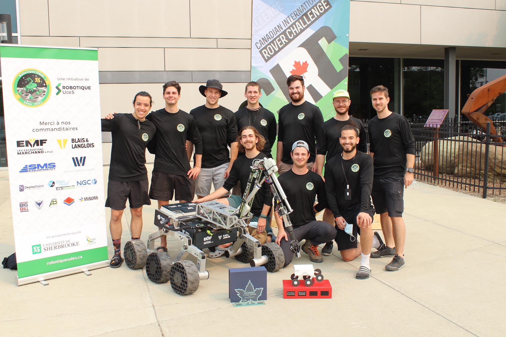 Zeus : Retour sur la Canadian International Rover Challenge