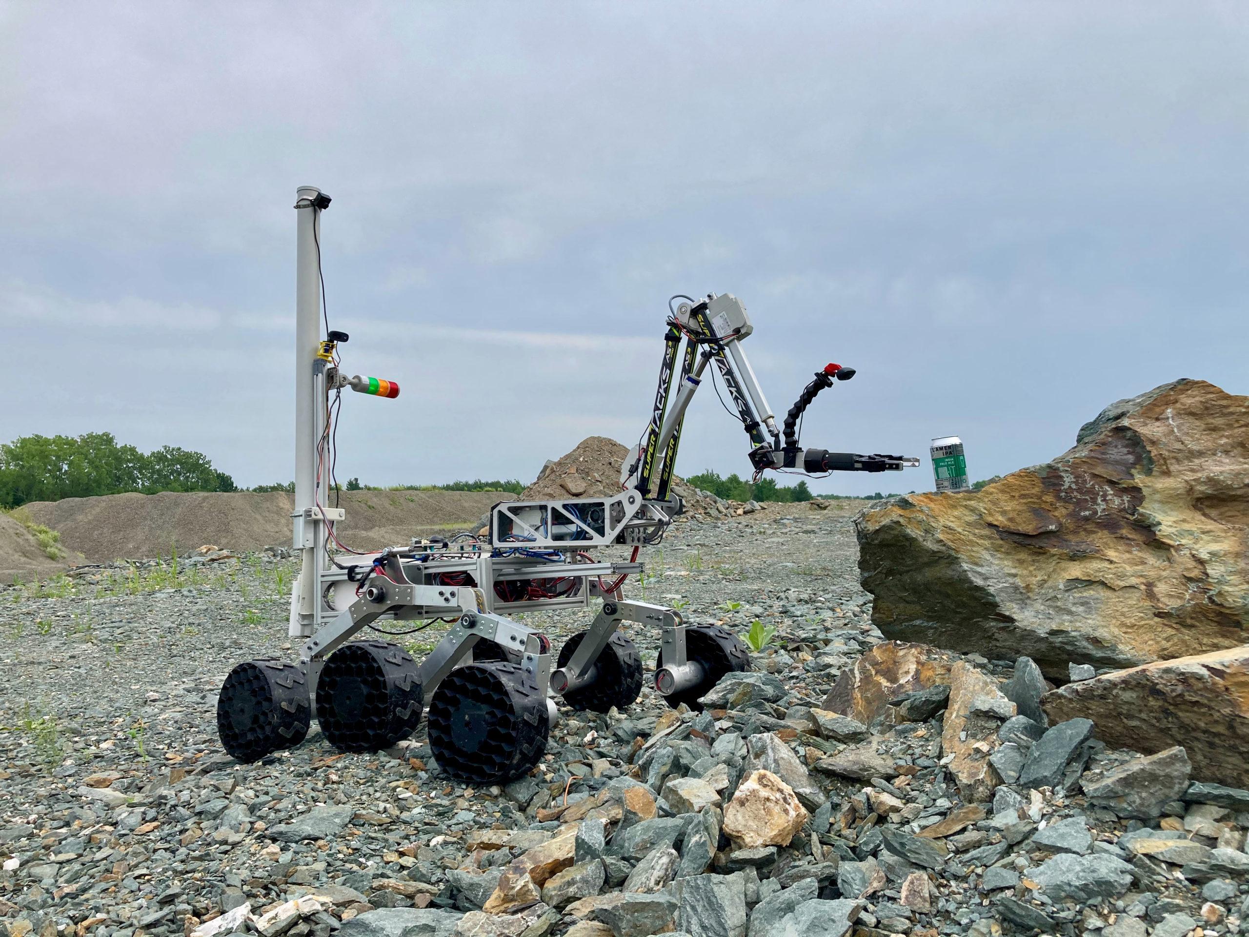 La conception d'une astromobile, un projet concret pour ces finissants de la Faculté de génie